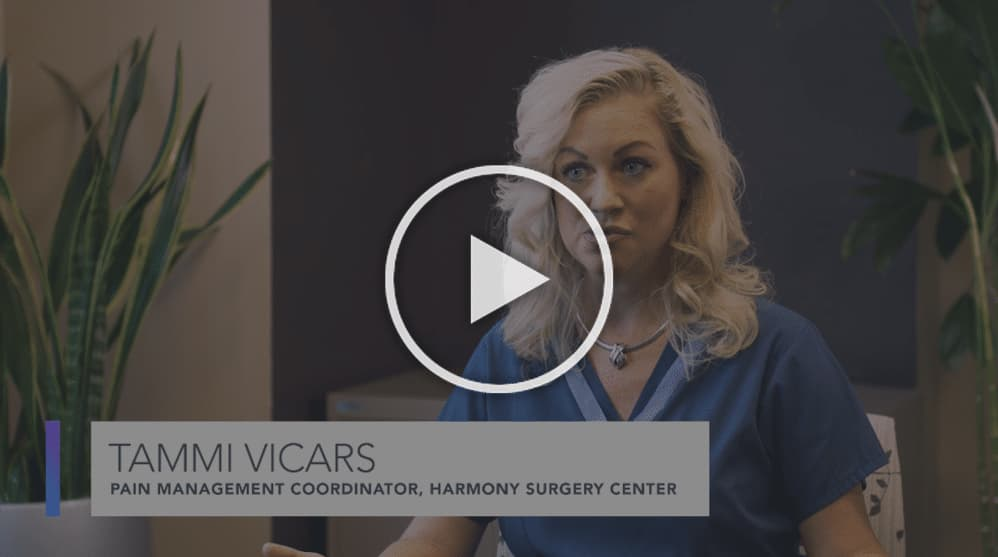 Tammi Vicars, Pain Management Coordinator Harmony Surgery Center