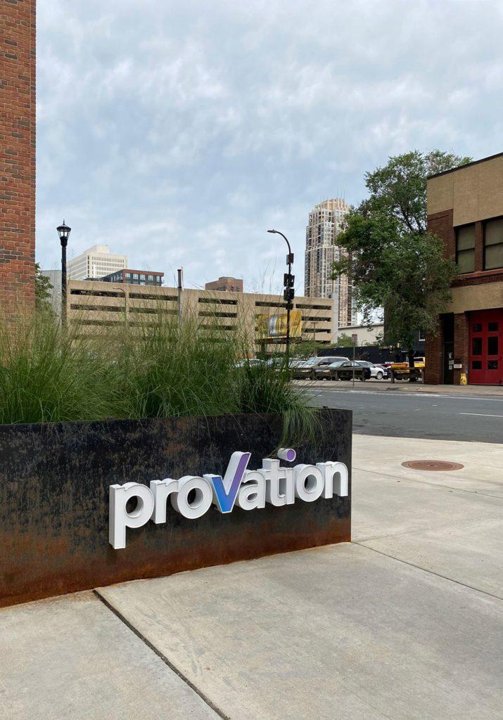 Provation's Millwright sign