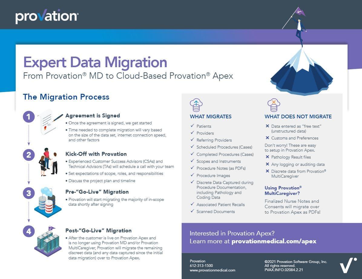 Infographic Data Migration