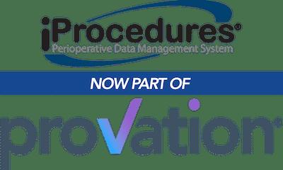 iProcedures is now part of Provation